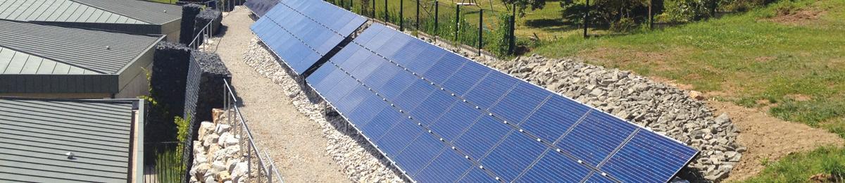 Bureau d'études DEJANTE - Énergies - Panneaux photovoltaïques